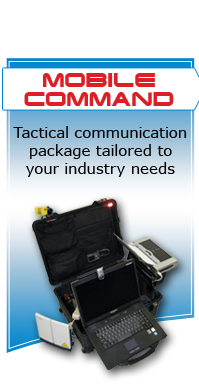 TAC-PAK briefcase mobile command system